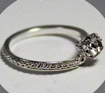 Ladies stone setting finger ring