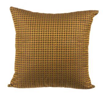 Brown Orange Cushion Cover by Ivoryniche