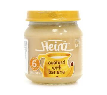 Heinz Banana Custard - 110gm
