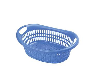 72211 Oval Net Bowl - Light Blue (Combo of 5)