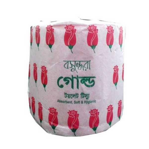 Bashundhara Gold Toilet Tissue 1 pcs