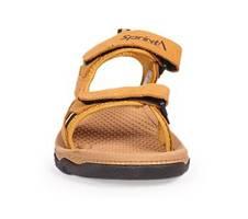 Sprint Beige Men's Leather Sandal | AjkerDeal.com2