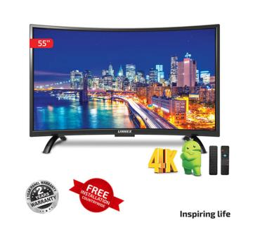 Linnex Smart Curved LED LNX-CST4K-55 TV