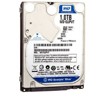 1TB HDD Laptop