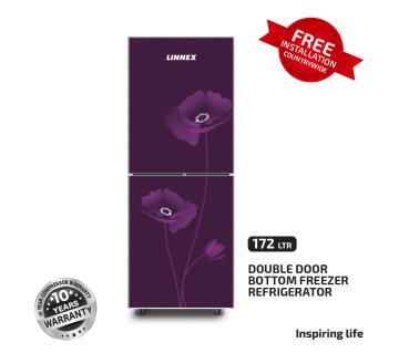 Linnex Refrigerator LNX-REF-172GD-BM-PRPL-FL