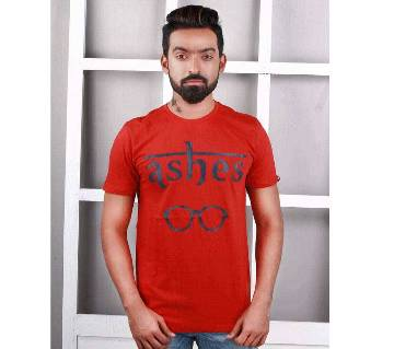 Ashes Gents Half Sleeve Cotton T-shirt