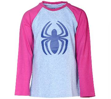 Le Reve Kids Boys Long Sleeve Round Neck T-Shirt KBLT14116