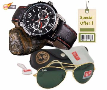 Curren Watch & Sunglasses Combo -Copy
